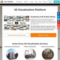 3D Visualisation Platform - Easyrender.com