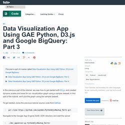 Data Visualization App Using GAE Python, D3.js and Google BigQuery: Part 3 - Tuts+ Code Tutorial