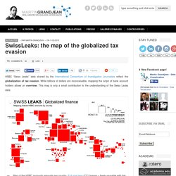 Data visualization: #SwissLeaks, the map of the globalized fortunes