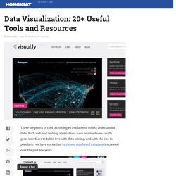 Data Visualization: 20+ Useful Tools and Resources