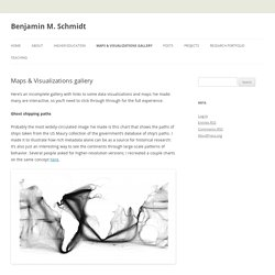 Maps & Visualizations gallery