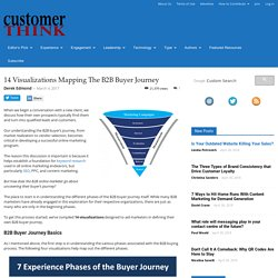 14 Visualizations Mapping The B2B Buyer Journey