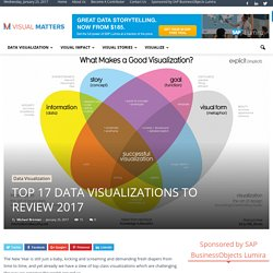 Top 17 Data Visualizations To Review 2017 - Visual Matters
