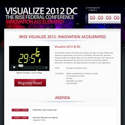 Visualize Conference DC 2012