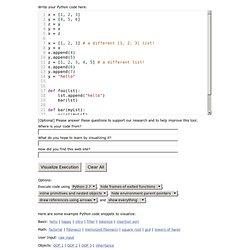 Online Python Tutor