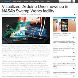 Visualized: Arduino Uno shows up in NASA's Swamp Works facility