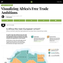 This is Africa's ambitious free trade plan, mapped