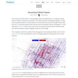 Visualizing 3 Billion Tweets