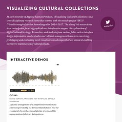 Visualizing Cultural Collections