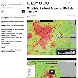 Visualizing the Most Dangerous Blocks In Your City