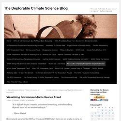 Visualizing Government Arctic Sea Ice Fraud