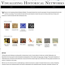 Visualizing Historical Networks