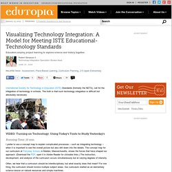 Visualizing Technology Integration: A Model for Meeting ISTE Educational-Technology Standards