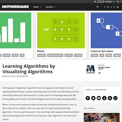 Learning Algorithms by Visualizing Algorithms