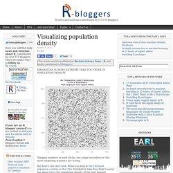 Visualizing population density