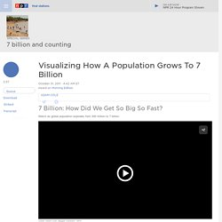 Visualizing How A Population Grows To 7 Billion