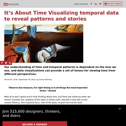 It's About Time : Visualizing temporal data to reveal patterns and stories: Visualizing temporal data to reveal patterns and stories
