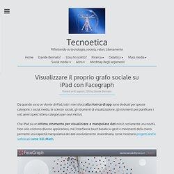 Visualizzare il proprio grafo sociale su iPad con Facegraph