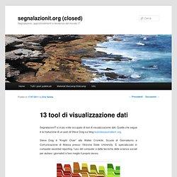 13 tool di visualizzazione dati- SegnalazionIT