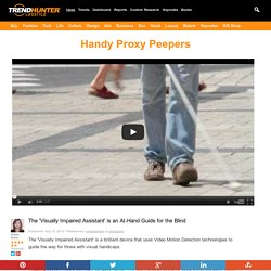 Handy Proxy Peepers : visually impaired assistant