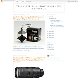 Visualville: A Photographers Resource