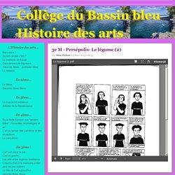 Arts du visuel 3ème - Collège du Bassin bleu Histoire des arts