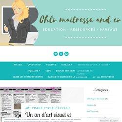 Un an d'art visuel et Histoire des arts – Chlo maitresse and co