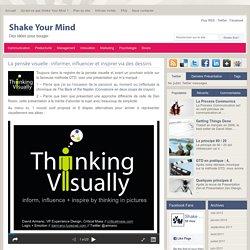 La pensée visuelle : informer, influencer et inspirer via des dessins