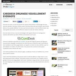 CardDesk organise visuellement Evernote - Les Outils Numériques