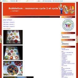 arts visuels - BubbleGum : ressources CP et CE1