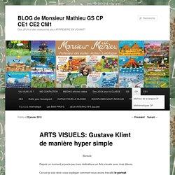 ARTS VISUELS: Gustave Klimt de manière hyper simple