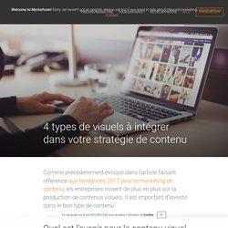 4 types de visuels à intégrer dans votre stratégie de contenu