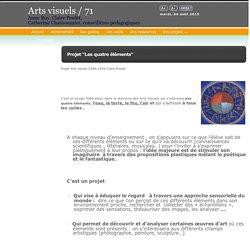 "Site Arts visuels / 71 - Projet ""Les quatre éléments"" (2008-2009)"