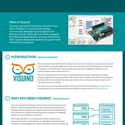 Visuino - Visual Development for Arduino by Mitov Software