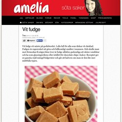 Vit fudge
