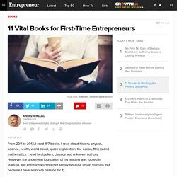 11 Vital Books for First-Time Entrepreneurs