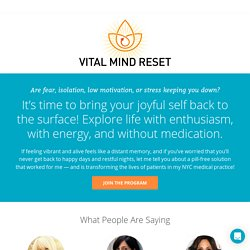 Vital Mind Reset Course - Kelly Brogan MD