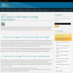 6 Vital Steps to Image Optimization for SEO