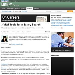 3 Vital Tools for a Salary Search