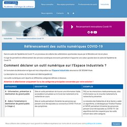 GIE SESAM-Vitale - Recensement innovations covid-19