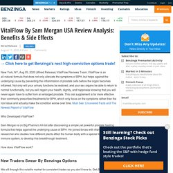 VitalFlow By Sam Morgan USA Review Analysis: Benefits & Side Effects