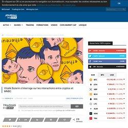Vitalik Buterin s'interroge sur les interactions entre cryptos et MNBC