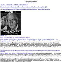 Vitamin C Anti-Viral