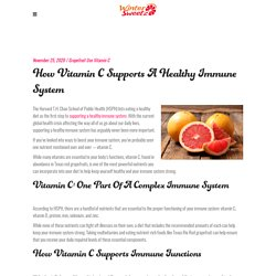 How Vitamin C Supports a Healthy Immune System
