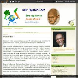 Vitamine B12 - Végétari1