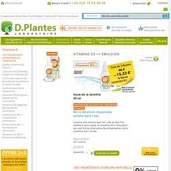 Vitamine D3 Emulsion, Laboratoire D.Plantes