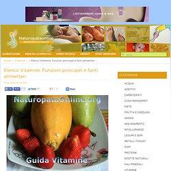 Guida alle Vitamine