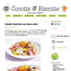 Salade vitaminée aux deux radis