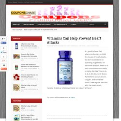 Vitamins Can Help Prevent Heart Attacks