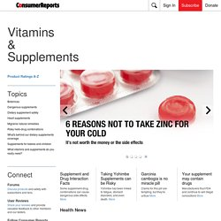 Natural Health - Consumer Reports Health